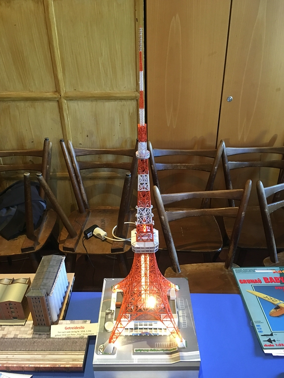 Tokyo Tower, 1:500