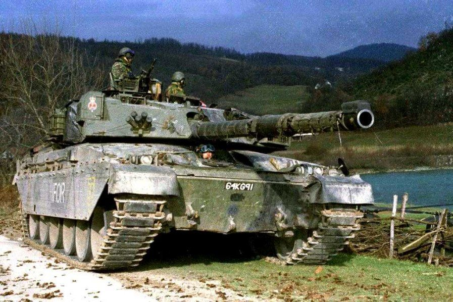 2. Challenger 1 in Bosnien