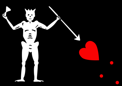 Flag of Blackbeard (Edward Teach) 02.png